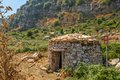 Tholos in sicily tombs forest Stock Photography