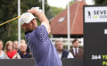 Thomas bjorn at the seve trophy saint nom la breteche france – october den during second round of european tour october Royalty Free Stock Photos