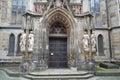 Thomas Church in Leipzig Royalty Free Stock Photo