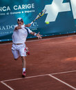 Thomas Fabbiano playing at ATP Genoa Open Royalty Free Stock Image