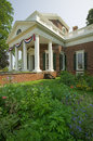 Thomas Jefferson's Monticello Stock Photography