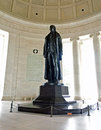 Thomas Jefferson Statue Royalty Free Stock Images