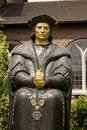 Thomas More Statue, Chelsea Royalty Free Stock Images