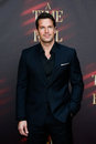 Thomas roberts new york oct news anchor attends the broadway opening night of a time to kill at the golden theatre on october in Stock Image