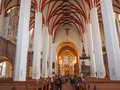 Thomaskirche Leipzig Royalty Free Stock Photo