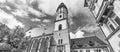 Thomaskirche in Leipzig, Saxony - Germany Royalty Free Stock Photo
