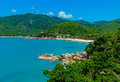 Thong nai pan beach santhiya koh phangan thaniland july Royalty Free Stock Images