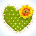 Thorny heart Royalty Free Stock Photo
