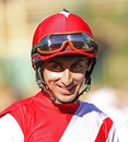 Thoroughbred Jockey Edwin A. Maldonado Stock Photography