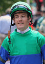 Thoroughbred Jockey Julien Leparoux Stock Photos