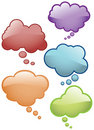 Thought Bubbles Icons Royalty Free Stock Image