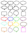 Thought speech bubbles