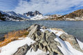 Thousand island lake Royalty Free Stock Photo