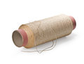 Thread spool on white background Stock Image