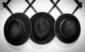 Three Amish Hats