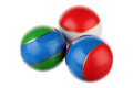 Three balls Stock Images