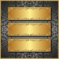 Three banners Royalty Free Stock Photo