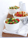 Three bean salad Stock Photography