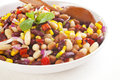 Three Bean Salad Royalty Free Stock Photography