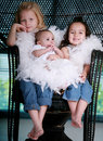 Three Beautiful Sisters Stock Photography