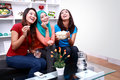 Three beautiful women laughing together Royalty Free Stock Photo