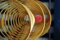 Three big incense coils Royalty Free Stock Photo