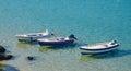 Three boats Royalty Free Stock Photo