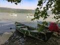 Three boats on the sea Royalty Free Stock Photo