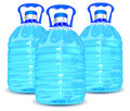 Three bottles Royalty Free Stock Photo