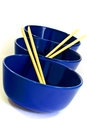 Three bowls Royalty Free Stock Images