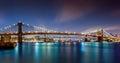 The Three Bridges Royalty Free Stock Photo
