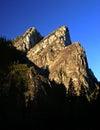 The three brothers at yosemite national park Royalty Free Stock Photos