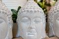 Three Buddha Heads