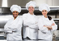 Three chefs Royalty Free Stock Photo