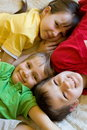 Three children Stock Images