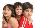 Three childrens Royalty Free Stock Photo