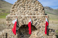 Three Christmas Stockings Stock Images