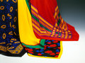 Three Colorful Scarves Royalty Free Stock Photo