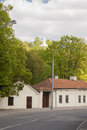 Three cross hill vilnius the in lithuania europe Royalty Free Stock Image
