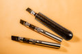 Three Electric Cigarettes Royalty Free Stock Photo