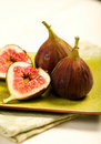 Three Figs Royalty Free Stock Photo