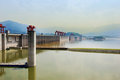 Three gorges dam Royalty Free Stock Image