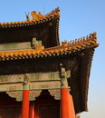 Three Great Halls. Forbidden City. Beijing. China. Royalty Free Stock Photos