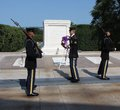 Three Honor Guards at the Tomb Royalty Free Stock Photography