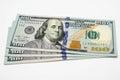Three hundred dollars of the usa cash Royalty Free Stock Photos