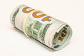 Three hundred dollars of the usa cash Stock Image