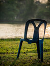 Three-legged chair Royalty Free Stock Photo