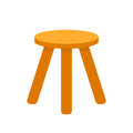 Three legged stool Royalty Free Stock Photo