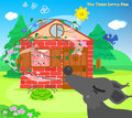 The three little pigs 10: blowing wolf