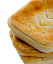 Three Meat Pies Stock Photos